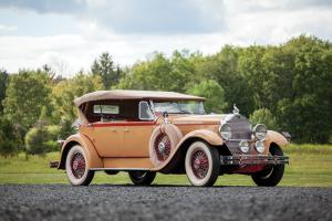 1929 Packard Deluxe Eight Sport Phaeton by Dietrich