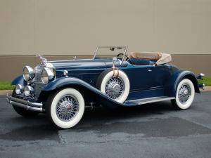 1930 Packard Speedster Eight Boattail Roadster Runabout