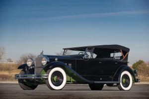 Packard 840 DeLuxe Eight Sport Phaeton 1931 года