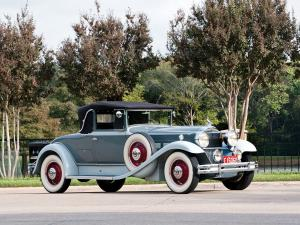 Packard Deluxe Eight Convertible Coupe 1931 года