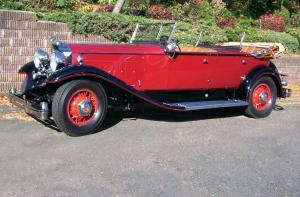 1931 Packard Deluxe Eight Model 840 Sport Phaeton