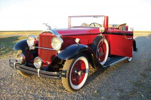 1931 Packard Standard Eight Model 833 Convertible Coupe