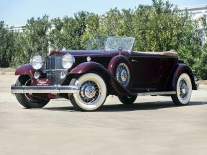1932 Packard Individual Custom Eight Convertible Victoria by Dietrich