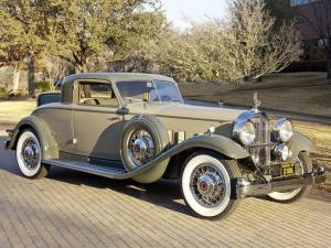 1932 Packard Individual Custom Eight Stationary Coupe by Dietrich