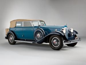 Packard Individual Custom Twelve Convertible Sedan by Dietrich 1932 года