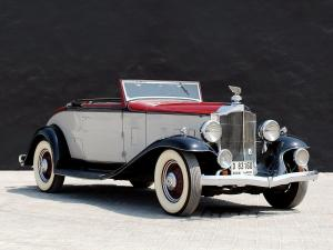 Packard Light Eight Coupe Roadster 1932 года