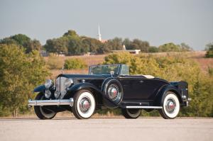 Packard Twelve Coupe Roadster 1932 года