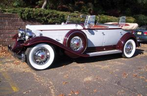 Packard Twelve Model 905 Sport Phaeton 1932 года