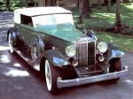 Packard Custom Twelve Convertible Victoria by Dietrich 1933 года