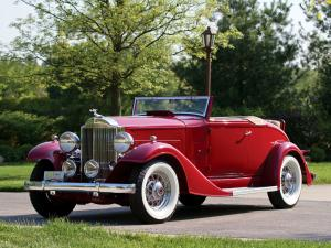Packard Eight Coupe Roadster 1933 года