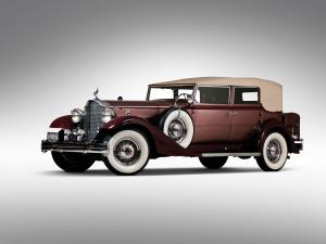 Packard Twelve Convertible Sedan 1933 года