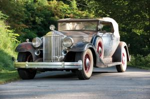 Packard Twelve Convertible Victoria 1933 года