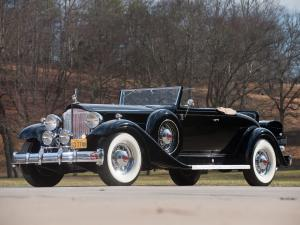 Packard Twelve Coupe Roadster 1933 года