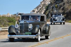 Packard 1108 Twelve Dietrich Convertible Victoria 1934 года