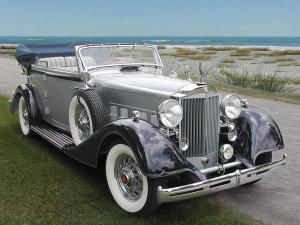 Packard Eight Convertible Sedan 1934 года