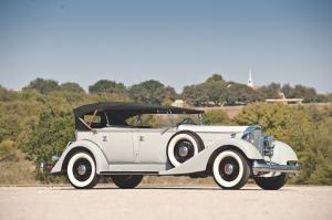 1934 Packard Eight Dual Cowl Sport Phaeton
