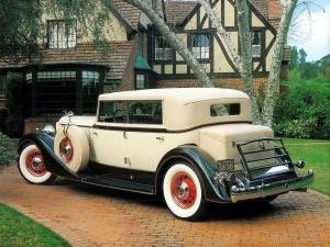 Packard Eight Sport Sedan 1934 года