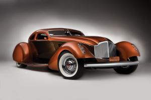 Packard Myth Custom Boattail Coupe 1934 года