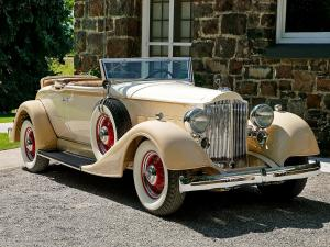 1934 Packard Standard Eight Coupe Roadster