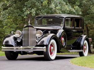 Packard Super Eight Club Sedan 1934 года