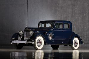 Packard Twelve 5-Passenger Victoria Coupe 1934 года
