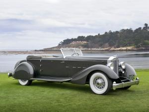 Packard Twelve Convertible Victoria by Dietrich 1934 года
