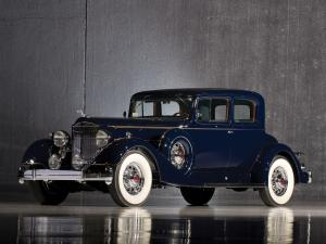 Packard Twelve Coupe 1934 года