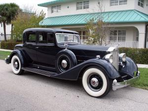 Packard Twelve Custom Coupe 1934 года