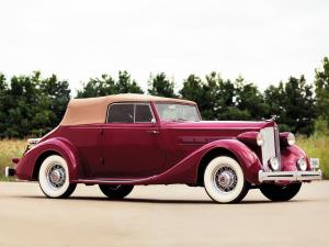 1935 Packard Eight Convertible Victoria