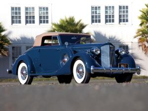 1935 Packard Twelve Coupe Roadster by Dietrich