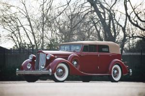Packard Twelve Model 1208 Convertible Sedan 1935 года