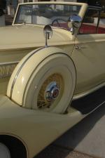 Packard Eight Model 1401 Convertible Coupe 1936 года