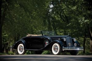 Packard Twelve 2/4-Passenger Coupe Roadster 1936 года