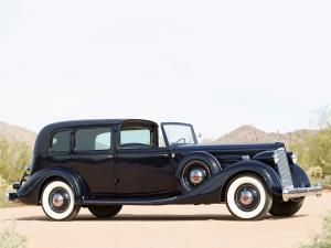 Packard Twelve All-Weather Town Car by LeBaron 1936 года