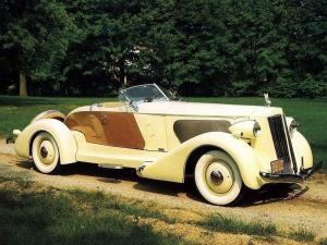 Packard Twelve Speedster 1936 года