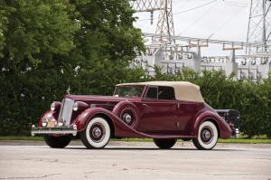 Packard Twelve Victoria Convertible by Dietrich 1936 года