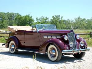 Packard 120 Convertible Sedan 1937 года