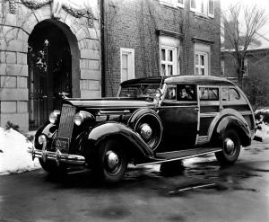 Packard 120 Station Wagon by Monart Motors '1937