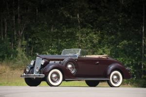 1937 Packard One-Twenty Convertible Coupe