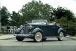 Packard Six Rumble Seat Convertible Coupe 1937 года