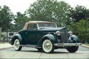 1937 Packard Six Rumble Seat Convertible Coupe