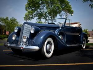 1937 Packard Super Eight Convertible Victoria