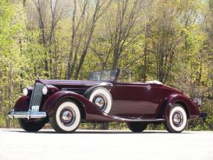 Packard Twelve Coupe Roadster 1937 года