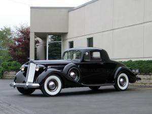 Packard Twelve Model 1507 Coupe 1937 года