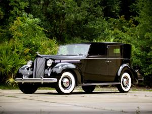 1938 Packard Super Eight All-Weather Panel Brougham by Rollston