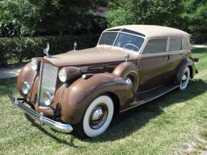 Packard Twelve Collapsible Touring Cabriolet by Brunn 1938 года