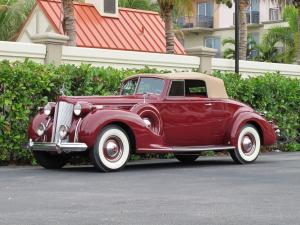 Packard Twelve Convertible Coupe 1938 года