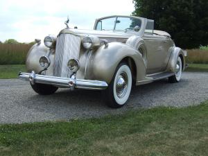 Packard Twelve Model 1608 Convertible Coupe 1938 года