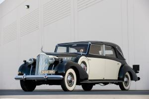 1939 Packard Super Eight Model 1705 Transformable Town Car by Franay