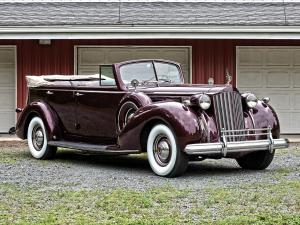 Packard Twelve Convertible Sedan 1939 года